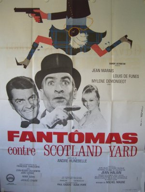 Fantomas contre Scotland Yard (B)